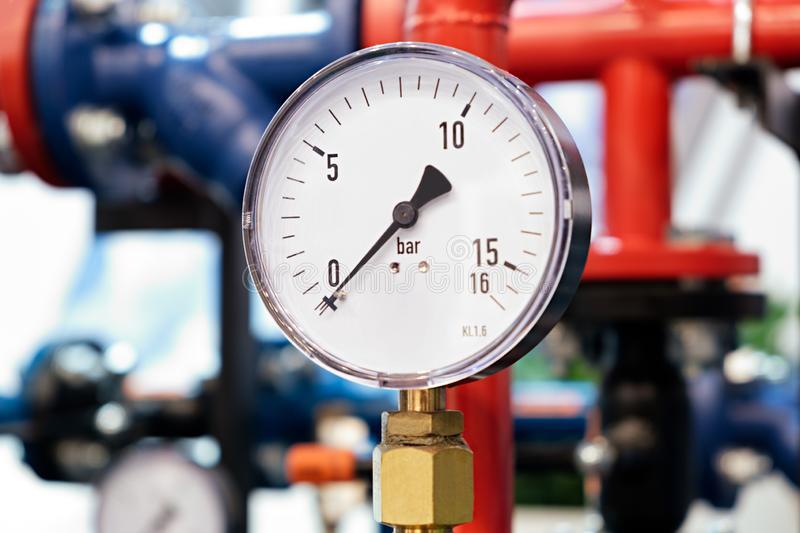 Instrumentos de medição e filtros reguladores Image